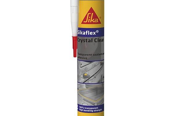 Герметик-клей Sika SikaFlex Crystal Clear, прозрачный 300мл
