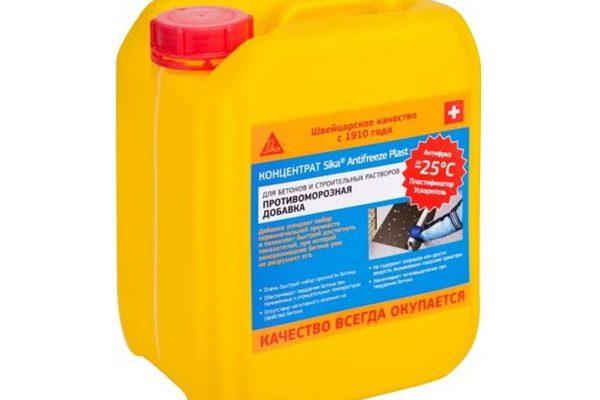Добавка Sika Antifreze Plast противоморозная+пластификатор 5л
