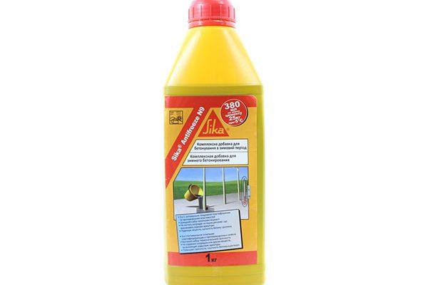 Добавка Sika Antifreze N9 противоморозная+пластификатор 5л