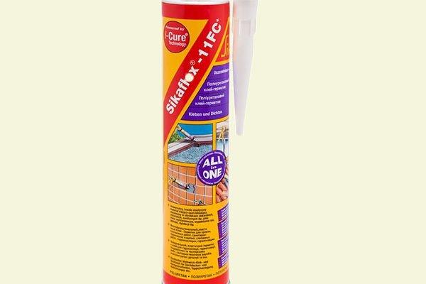 Герметик Sika SikaFlex-11FC+ полиуретановый, бежевый 300мл