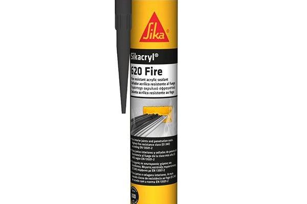 Герметик Sika Sikacryl Fire 620 белый, 600мл