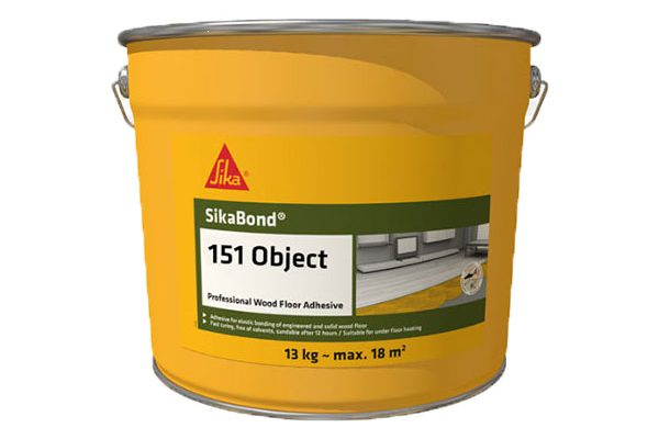 Клей для паркета Sika SikaBond 151, 17 кг.