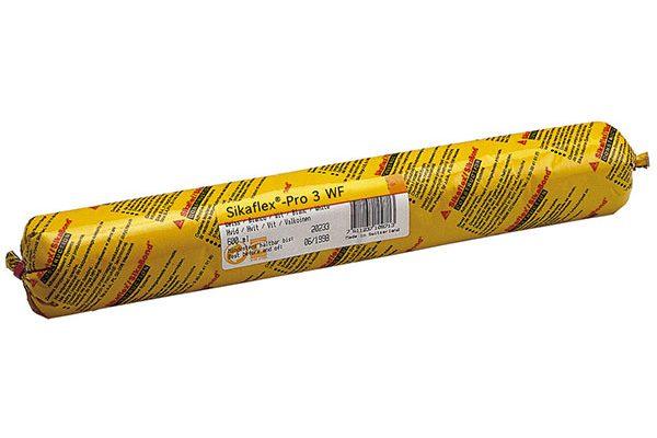Герметик Sika SikaFlex PRO-3 полиуретановый, серый 600мл