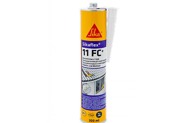 Герметик Sika SikaFlex-11FC+ полиуретановый, коричневая охра 300мл