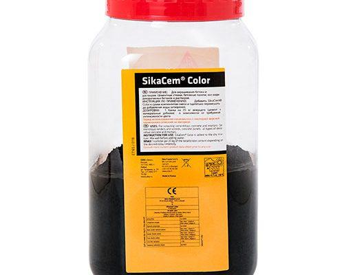 Краситель SikaCem Color, чёрный 1 кг